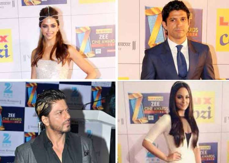 zee cine awards 2014 deepika shah rukh win top honours view- India Tv