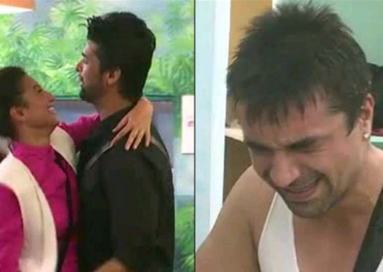bigg boss 7 ajaz breaks down as gauhar and kushal get close- India Tv