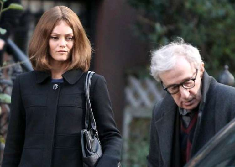 vanessa paradis tried seducing woody allen- India Tv