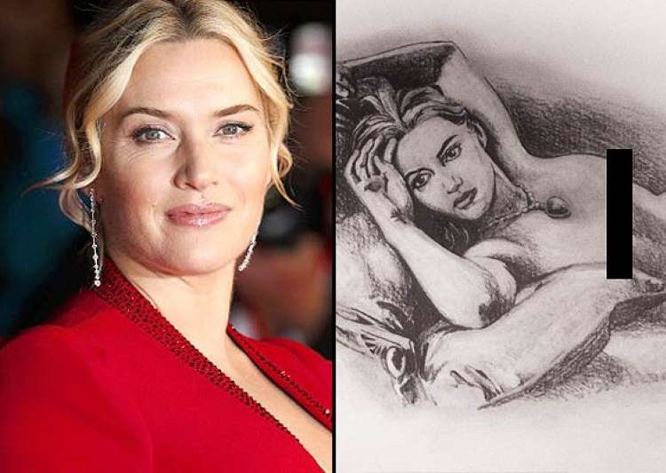 Kate Winslet not comfo...