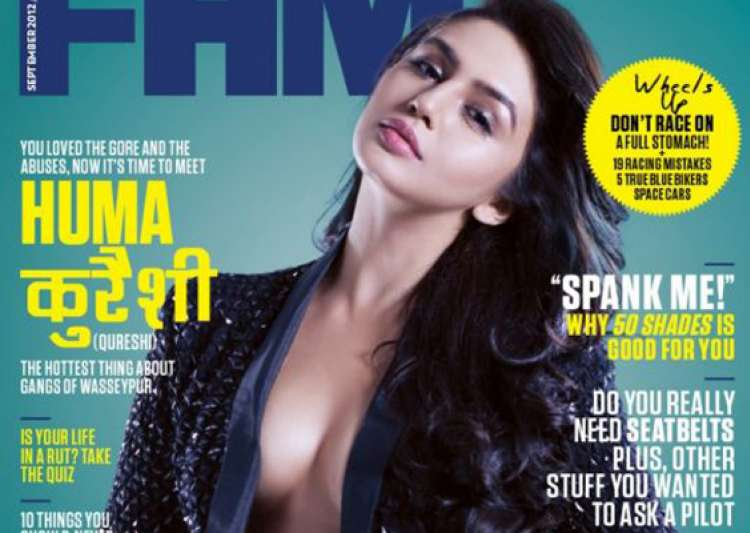 huma qureshi superhot on the cover of fhm magazine- India Tv