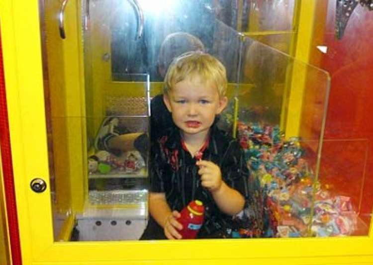 australian toddler trapped inside lolly machine while- India Tv