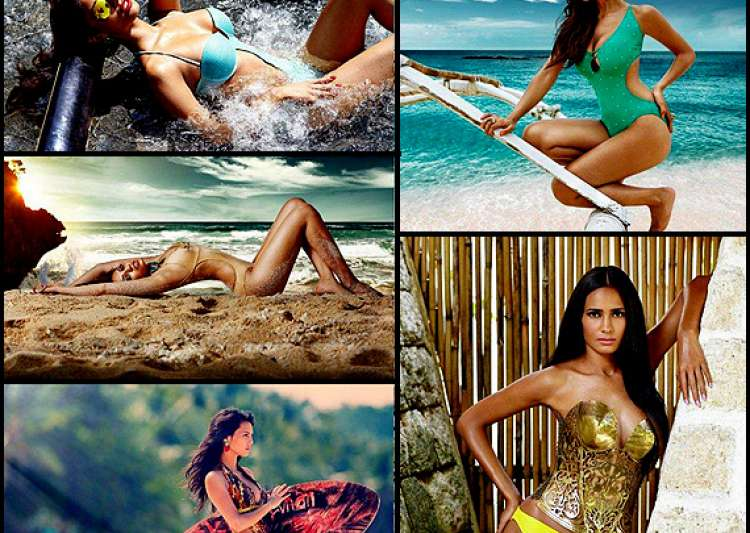 beauties of kingfisher swimsuit calendar 2014 view pics- India Tv