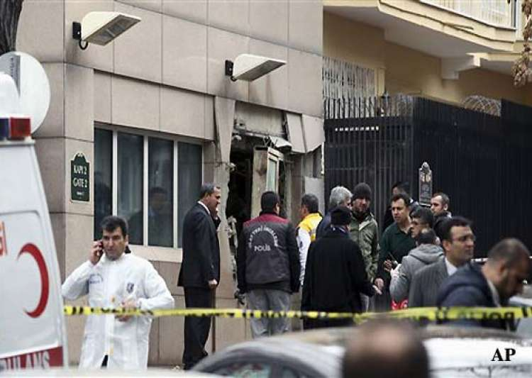 blast kills two outside us embassy in turkey- India Tv