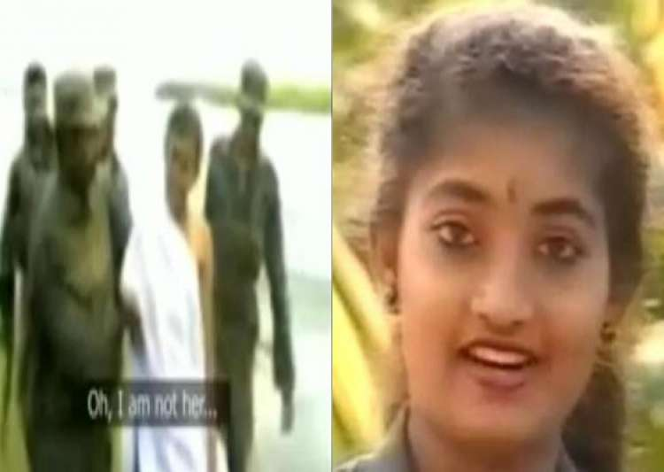 chilling video of ltte journalist issei priya captured- India Tv