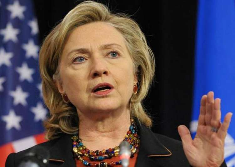 hillary clinton hospitalised after blood clot- India Tv