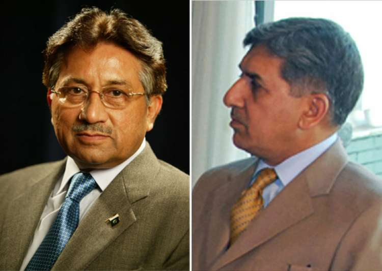 isi chief secretly met musharraf in dubai- India Tv