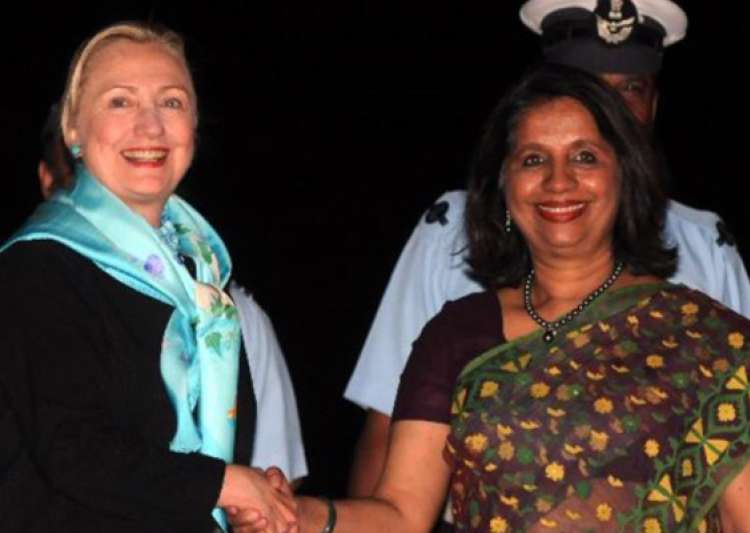 nirupama rao meets hillary clinton discusses range of bilateral issues- India Tv