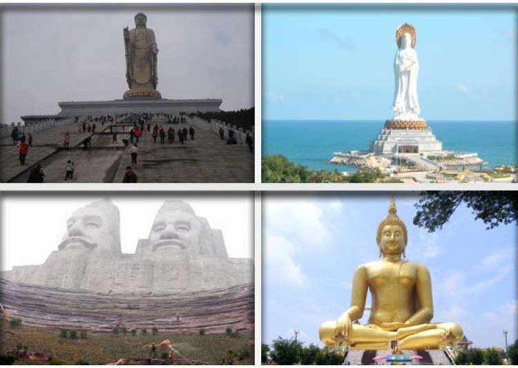the 10 tallest statues in the world- India Tv