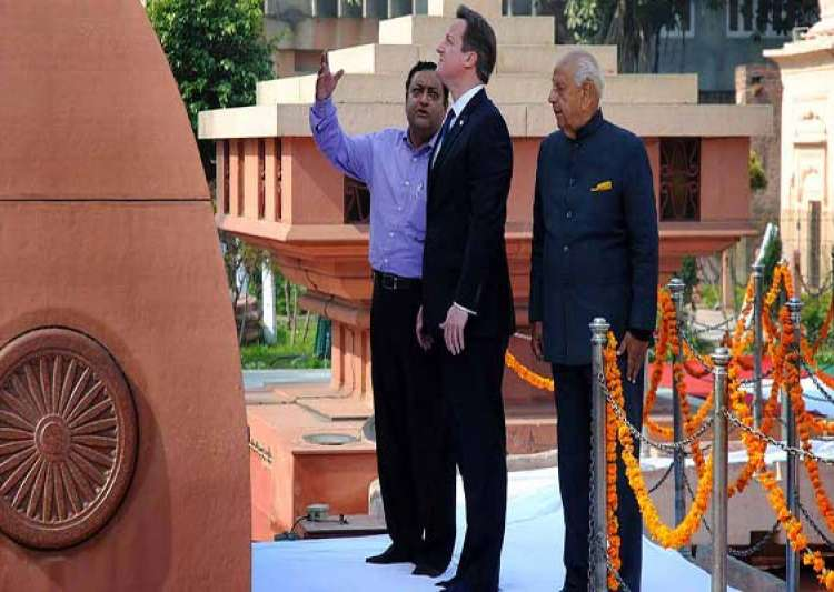 cameron describes jallianwala bagh massacre as deeply- India Tv