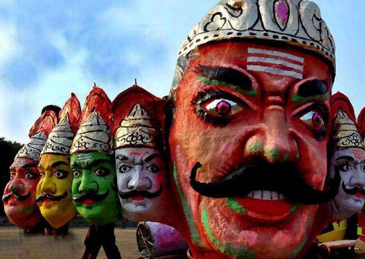 did demon king ravana really have ten heads- India Tv