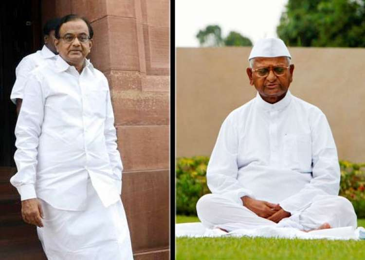 hazare says chidambaram would be in jail had there been jan- India Tv