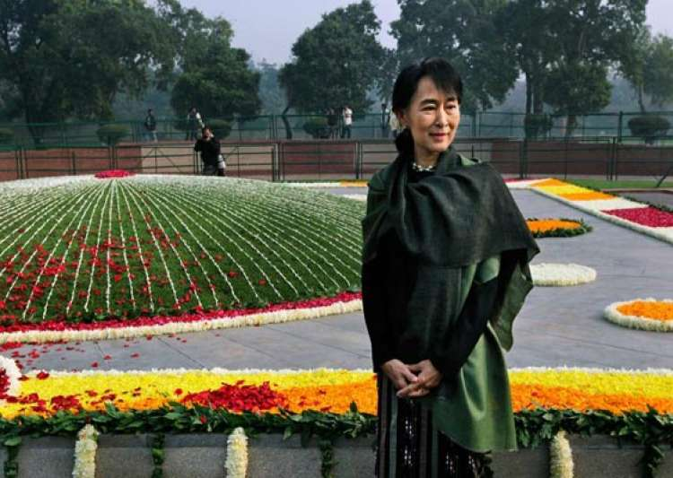 i feel partly a citizen of india says suu kyi- India Tv