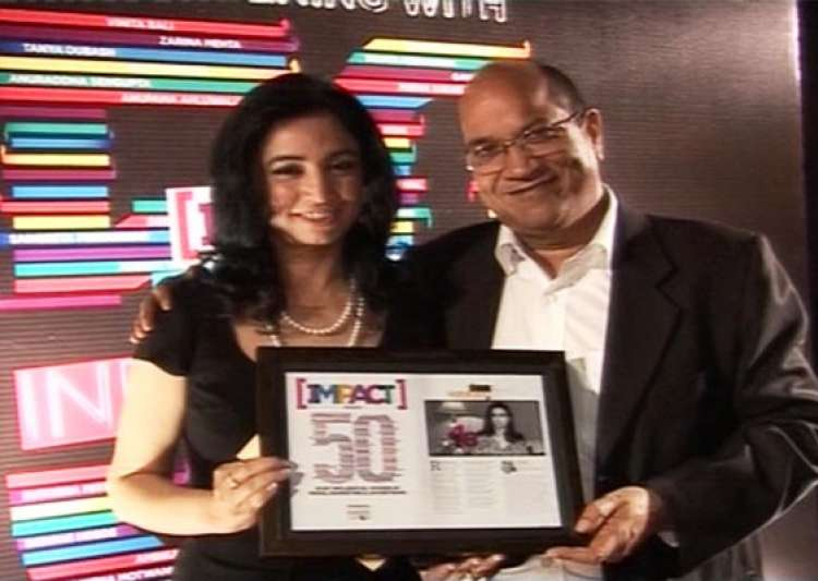 india tv ceo ritu dhawan gets impact most influential woman- India Tv