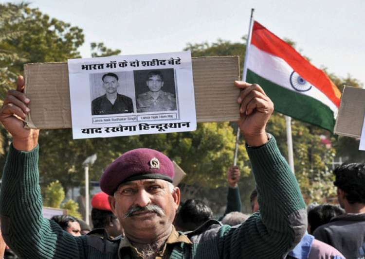 india demands punishment for pak brutes who killed indian- India Tv