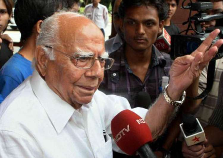 jethmalani demands chidambaram s resignation after ramlila verdict- India Tv