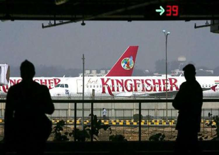 kingfisher aircraft seized in mumbai over non payment of service tax- India Tv