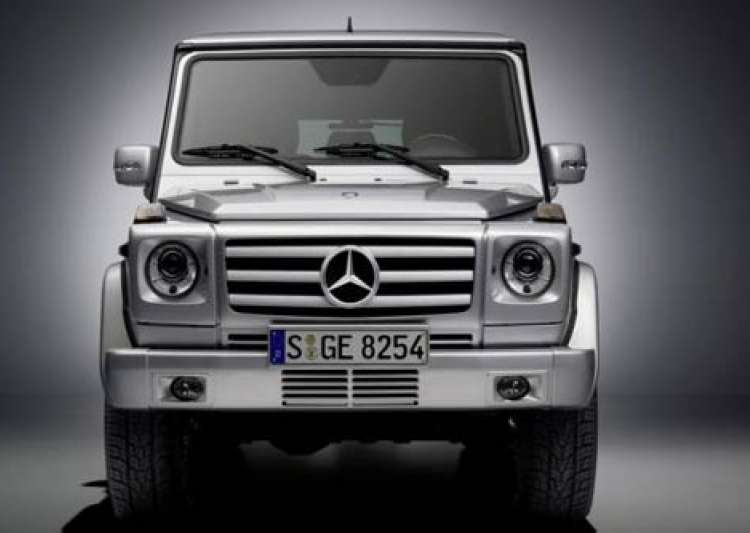 Mercedes benz launches g class suv price rs cr for Mercedes benz suv 2009 price