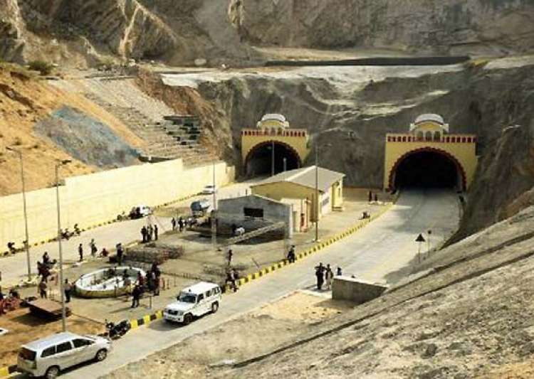 pm sonia inaugurate jaipur tunnel- India Tv