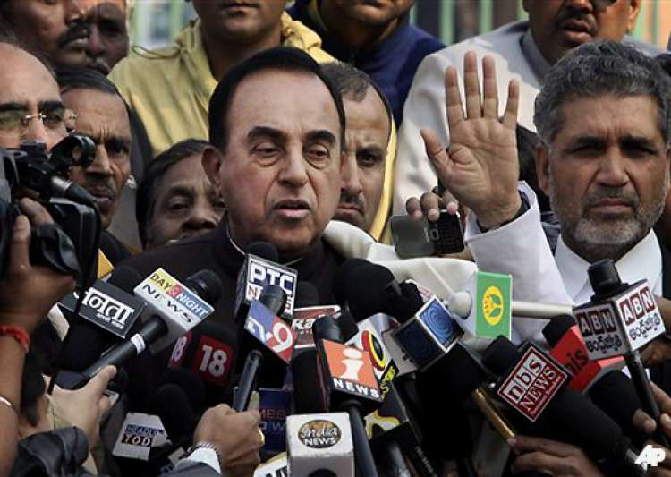 swamy to move supreme court against chidambaram- India Tv