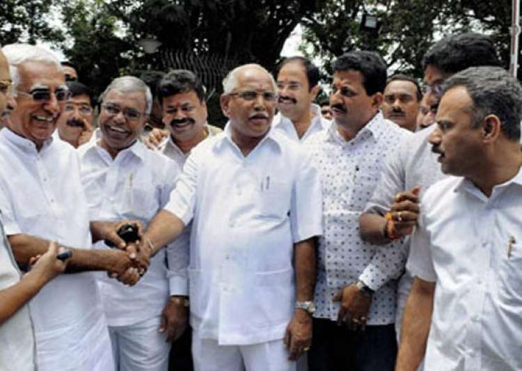 yeddyurappa camp relents gives up assembly boycott- India Tv