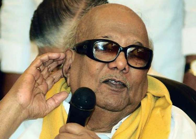 bjp demands karunanidhi s resignation- India Tv