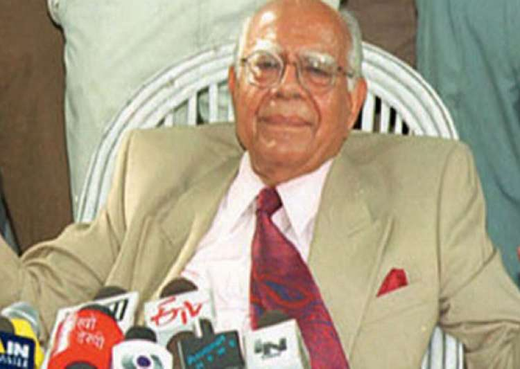bjp sends show cause notice to jethmalani over indiscipline- India Tv