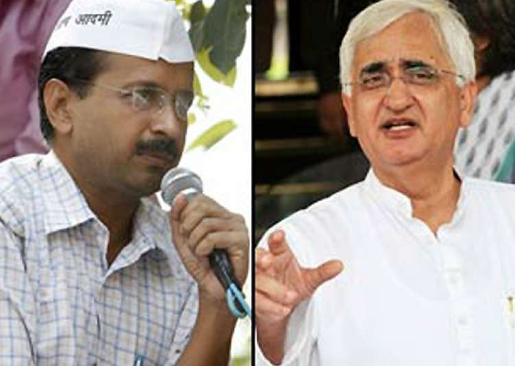 kejriwal s demand for khurshid s resignation rejected by- India Tv
