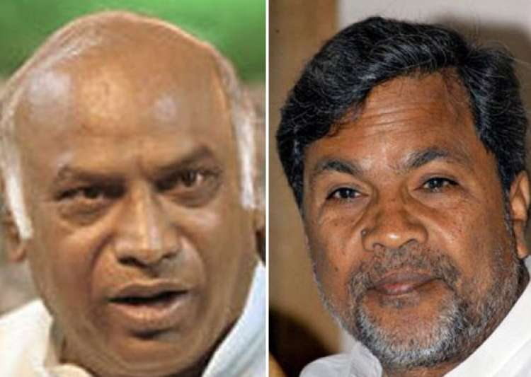 kharge siddaramaiah in race for karnataka cm post- India Tv