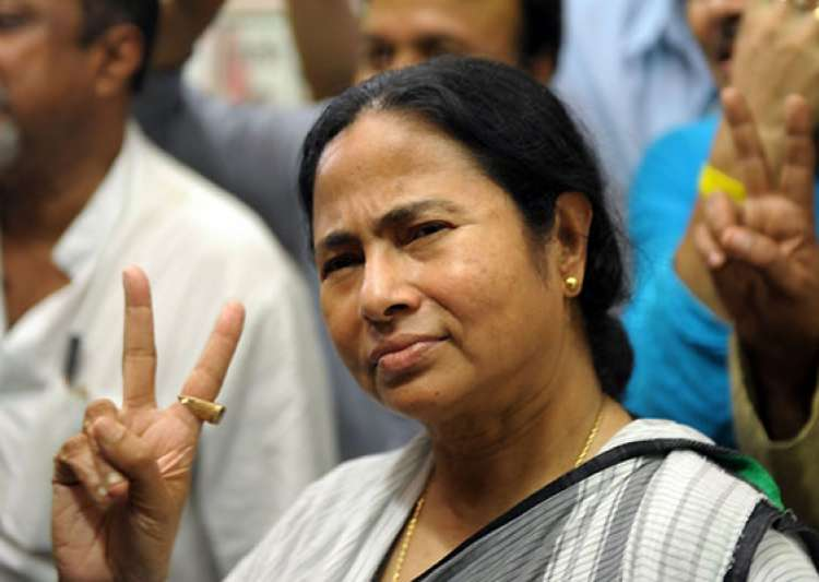 mamata comes to delhi to sit on dharna at jantar mantar- India Tv