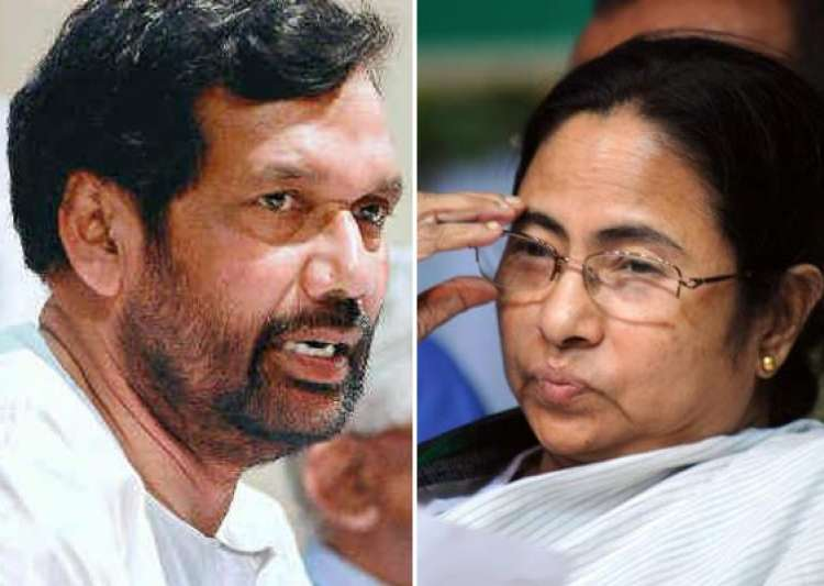 paswan flays mamata for humiliating trivedi- India Tv