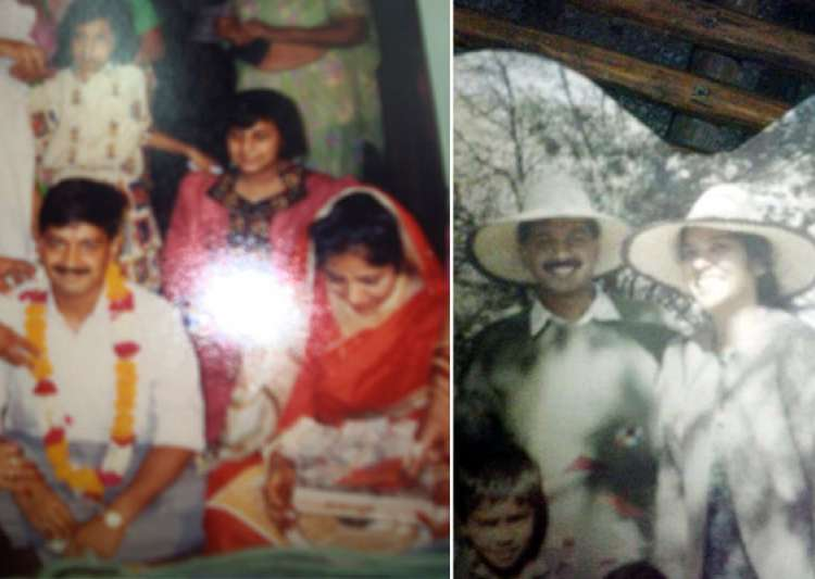 rare pics of arvind kejriwal and family- India Tv