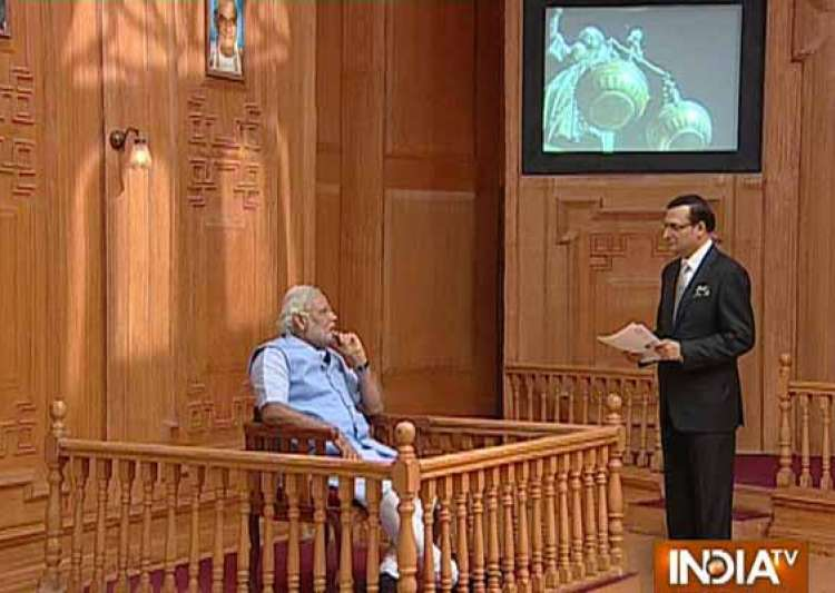 read selective excerpts from narendra modi s interview to- India Tv