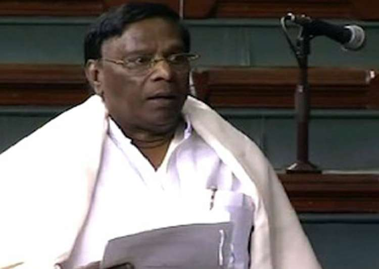 sp mp snatches quota bill from minister lok sabha adjourned- India Tv