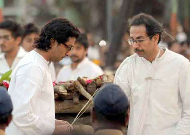uddhav snubbed raj thackeray at balasaheb s funeral- India Tv