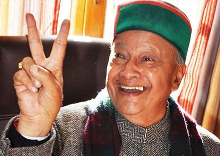 virbhadra singh takes oath as himachal pradesh cm heads 10- India Tv
