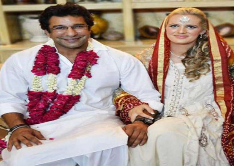 exclusive pic of wasim akram s wedding with australian- India Tv