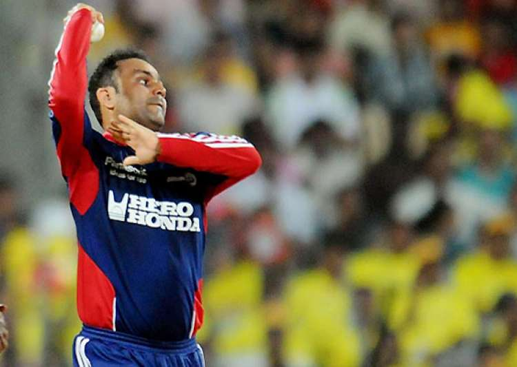 ipl 6 sehwag the bowler finally makes a comeback- India Tv