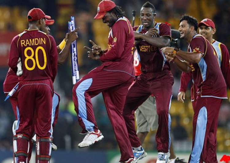 west indies celebrates gangnam style at t20- India Tv