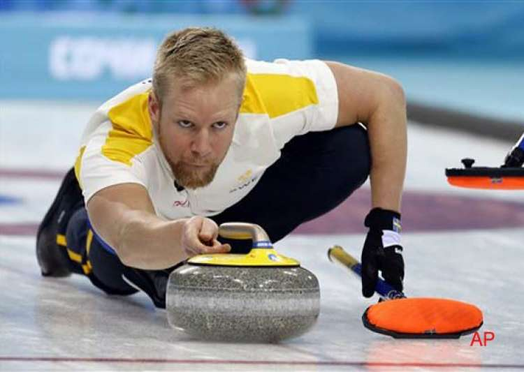 sweden beat canada 3 0 in men s curling at sochi olympics- India Tv