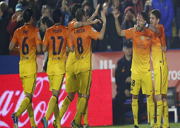 barcelona beats levante in spanish league- India Tv