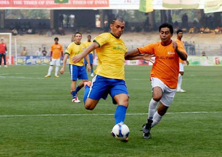 brazilian masters showcase samba magic to beat ifa xi 3 1- India Tv