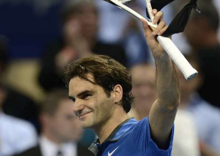 federer beats bellucci at swiss indoors- India Tv