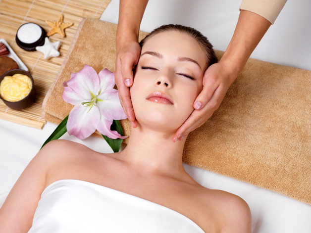Massage your face with baby oil. Massaging helps in tissue and muscle relaxation and baby oils are the best suited for all kinds of skin. They treat the skin with great tenderness.