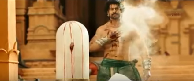 In the trailer of 'Baahubali: 2', the lead actor Prabhas can be seen bravely rising after a revengeful fight and his fully blood drenched chest shows the confident after winning a battle. Meanwhile it is also assumed from the trailer of 'Baahubali-2' that the suspense of why Katappa killed Baahubali is going to be disclosed in the film.