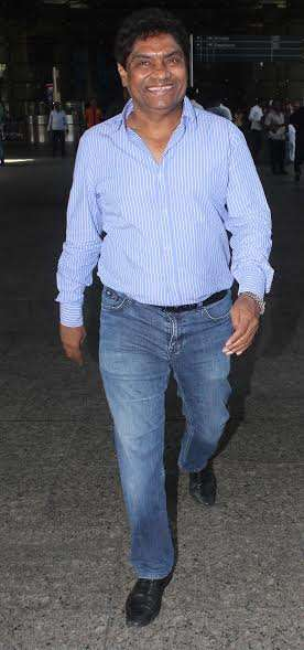 Ace comedian Johnny Lever was also seen at the airport.