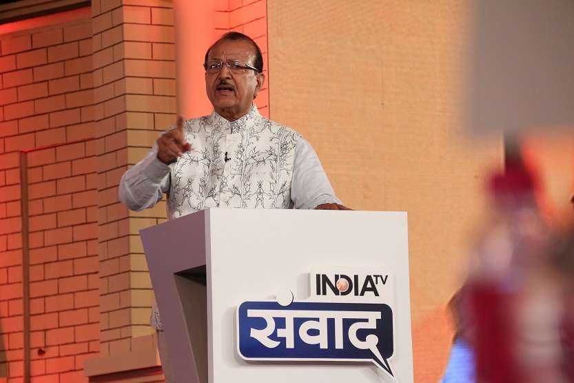 Modi government has been successful in polarising and dividing people, says Sudheendra Bhadoria at India TV Samvaad