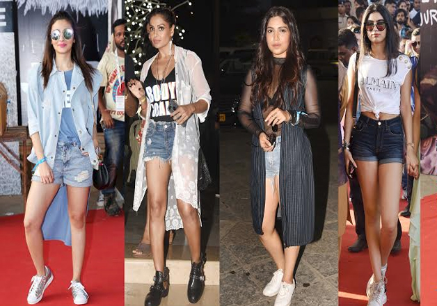 Bollywood actress including Alia Bhatt, Bipasha Basu, Bhoomi Padnekar attended Bieber's concert in style. Sridevi daughter Jhanvi Kapoor was also spotted at the concert.