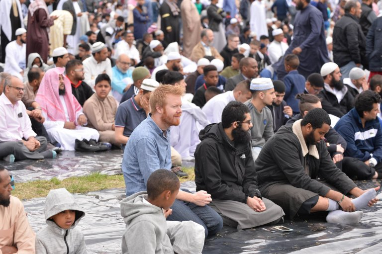 The Eid celebration was organised by Green Lane Masjid and Community Centre, which is now in its seventh year.