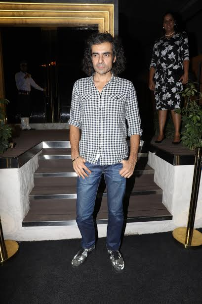 Imtiaz Ali was also seen present at the event. Imtiaz's next movie Jab Harry Met Sejal will be starring Shahrukh Khan and Anushka Sharma in the lead roles.
